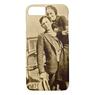 Bonnie y Clyde - la cuadrilla de la carretilla Funda iPhone 7