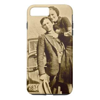 Bonnie y Clyde - la cuadrilla de la carretilla Funda iPhone 7 Plus