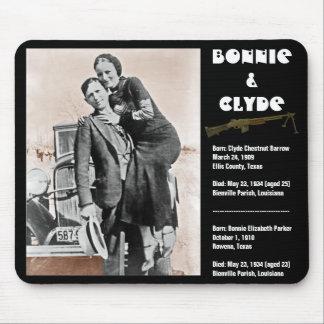 Bonnie y clyde (sepia) en el negro, Army_Heritage_ Alfombrilla De Ratones