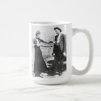 Bonnie y Clyde Tazas