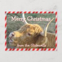 BonnieMCPostCard-customize Holiday Postcard