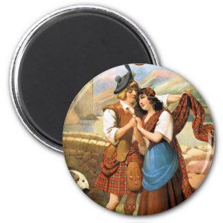 Bonny Scotland 2 Inch Round Magnet