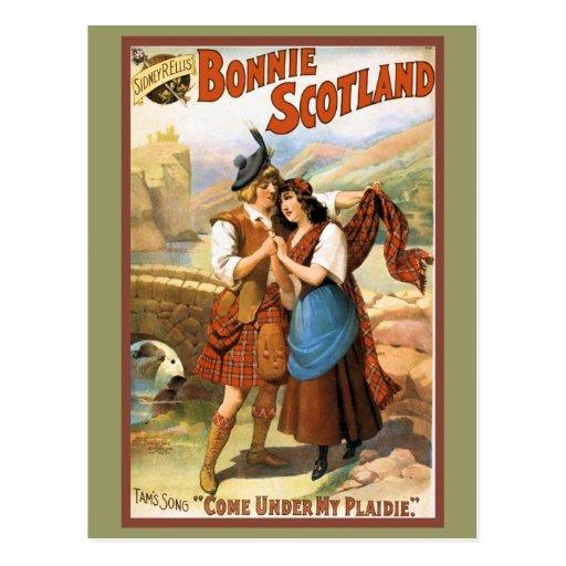 Bonny Scotland Post Card