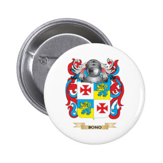 Bono-2 Coat of Arms (Family Crest) Pin