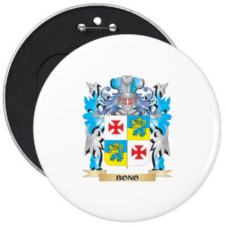 Bono Coat of Arms Pinback Button