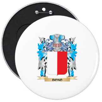 Bono Coat of Arms Pinback Buttons