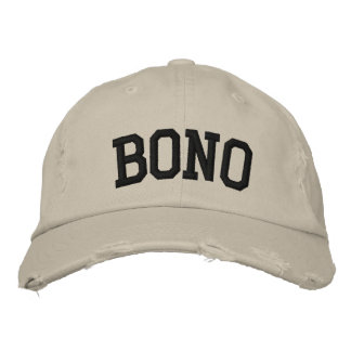 Bono Embroidered Hat Embroidered Hat