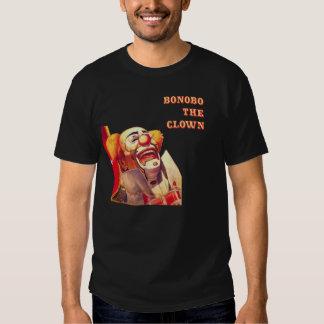 Bonobo de risa el payaso camisas
