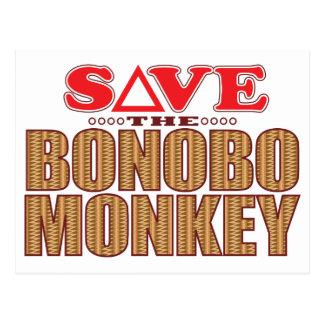 Bonobo Monkey Save Postcard