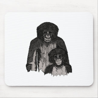 Bonobo Mouse Pad