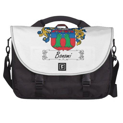 Bonomi Family Crest Laptop Computer Bag