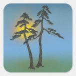 Bonsai 06 square sticker