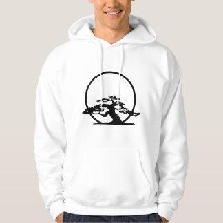 Bonsai against sun outline image graphic design sweatshirt