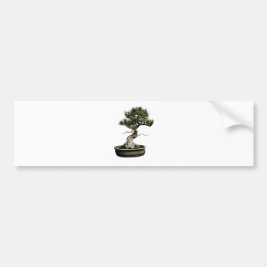Bonsai Bumper Sticker