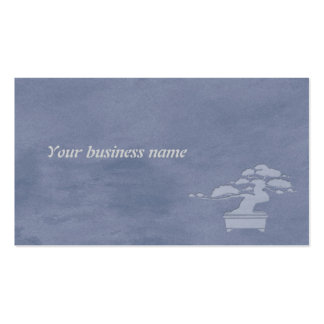 bonsai Double-Sided standard business cards (Pack of 100)