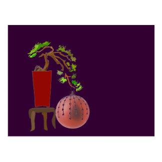 Bonsai Christmas Tree Post Cards