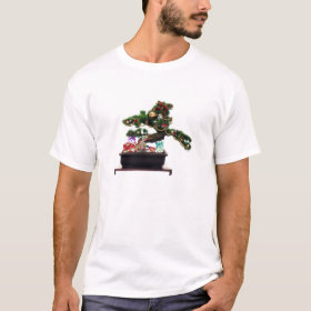 Bonsai Christmas Tree T-Shirt