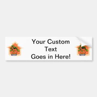 Bonsai Clump Graphic Image 1 Car Bumper Sticker