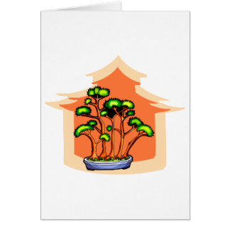 Bonsai Clump Graphic Image 1 Card