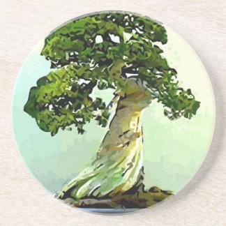 Bonsai Cypress Tree Coaster