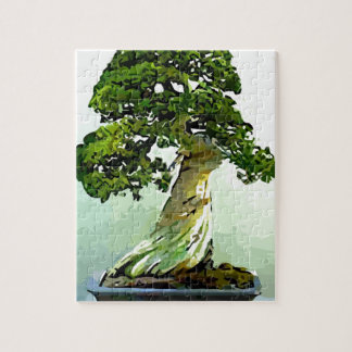Bonsai Cypress Tree Jigsaw Puzzle