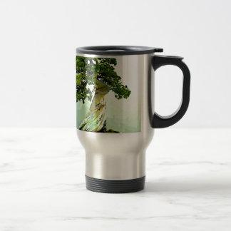 Bonsai Cypress Tree Travel Mug