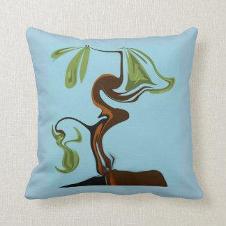 Bonsai Design Throw Pillow