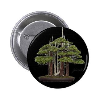 Bonsai goshin pinback button