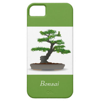 Bonsai Japanese Miniature Tree with Leaf Dots iPhone SE/5/5s Case
