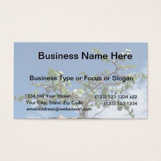 Bonsai portulacaria afra tree 2 business card