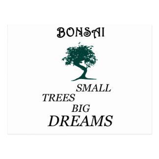 Bonsai Postcard