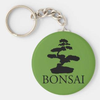 Bonsai Silhouette Keychain