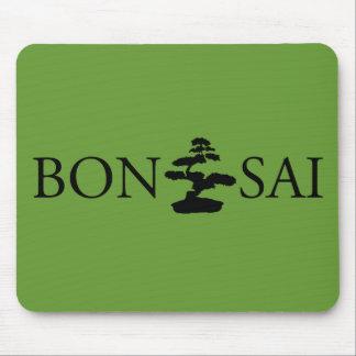 Bonsai Silhouette Mouse Pad