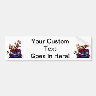 Bonsai Still Live Graphic Image Car Bumper Sticker