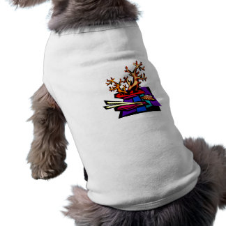 Bonsai Still Live Graphic Image Dog T-shirt
