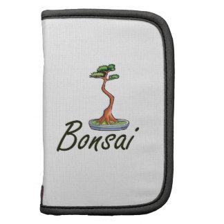 Bonsai text literati graphic folio planner