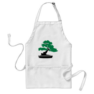 Bonsai tree adult apron
