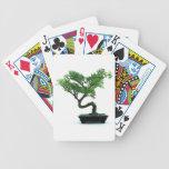 Bonsai Tree Bicycle Playing Cards
