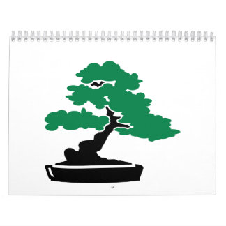 Bonsai tree calendar