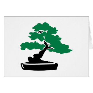 Bonsai tree cards