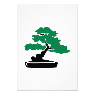 Bonsai tree custom invite
