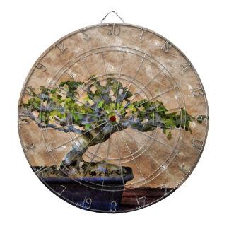 Bonsai Tree Dartboard With Darts