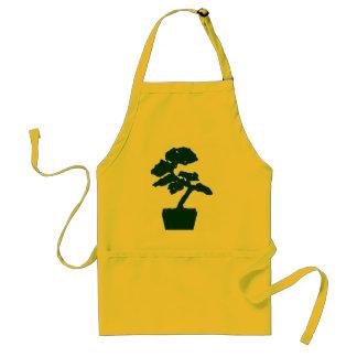 bonsai tree (green) apron