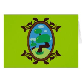 Bonsai Tree Greeting Card