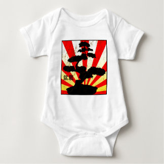 Bonsai Tree (grunge style) Baby Bodysuit