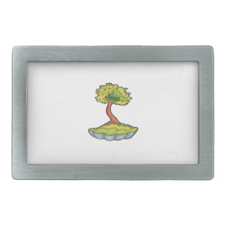 bonsai tree informal upright in scallop pot.png belt buckle