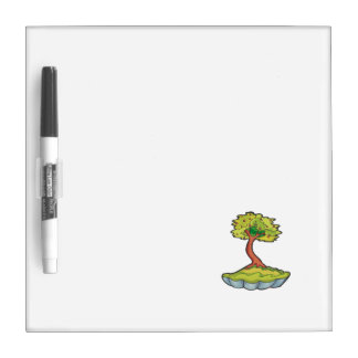 bonsai tree informal upright in scallop pot.png dry erase board