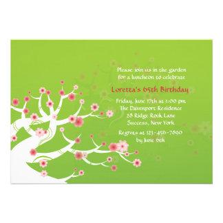 Bonsai Tree Invitation
