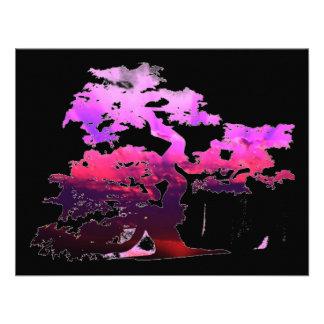 Bonsai Tree Custom Invites