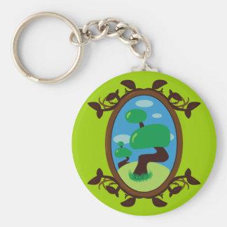 Bonsai Tree Key Chains